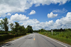Δρόμος ουρανού. Στοκ Εικόνες