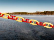 Δρόμος πάγου κλειστός Στοκ φωτογραφίες με δικαίωμα ελεύθερης χρήσης