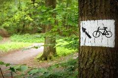 δρόμος πάρκων Στοκ εικόνες με δικαίωμα ελεύθερης χρήσης
