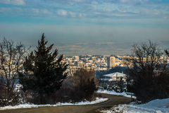 Δρόμος πίσω στο σπίτι Στοκ εικόνες με δικαίωμα ελεύθερης χρήσης