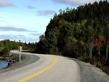 δρόμος παραλιών Στοκ φωτογραφία με δικαίωμα ελεύθερης χρήσης