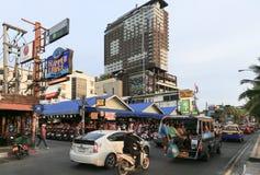 Δρόμος παραλιών Pattaya Στοκ φωτογραφίες με δικαίωμα ελεύθερης χρήσης