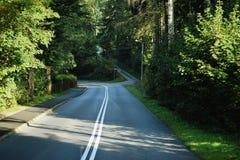 Δρόμος που οδηγεί μας κάπου Στοκ Φωτογραφίες
