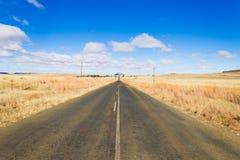 Δρόμος προοπτικής από το πορτοκαλί ελεύθερο κράτος, Νότια Αφρική Στοκ Εικόνες