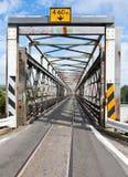 δρόμος ραγών γεφυρών Στοκ Εικόνα