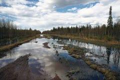 δρόμος ρωσικά Στοκ Φωτογραφίες