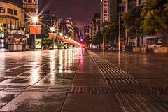 Δρόμος Σαγκάη Κίνα του Ναντζίνγκ Στοκ Φωτογραφίες