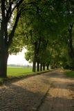 Δρόμος σε ένα χωριό στοκ φωτογραφίες