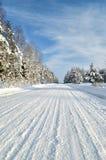 Δρόμος σε μια επαρχία Στοκ φωτογραφία με δικαίωμα ελεύθερης χρήσης
