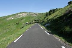 Δρόμος σε Ariege, Γαλλία Στοκ φωτογραφία με δικαίωμα ελεύθερης χρήσης