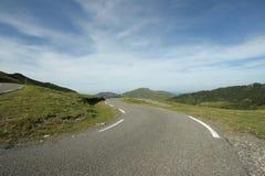 Δρόμος σε Ariege, Γαλλία Στοκ φωτογραφίες με δικαίωμα ελεύθερης χρήσης