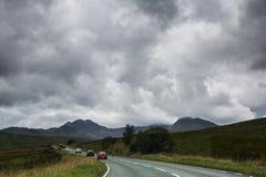 Δρόμος σε Snowdonia Στοκ φωτογραφία με δικαίωμα ελεύθερης χρήσης