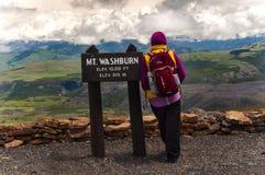 Δρόμος σε Tetons μεγάλο εθνικό πάρκο teton Wyoming Στοκ εικόνες με δικαίωμα ελεύθερης χρήσης