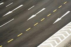 δρόμος σημαδιών Στοκ φωτογραφία με δικαίωμα ελεύθερης χρήσης