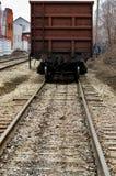 Δρόμος σιδηροδρόμων και τραίνο p2 Στοκ Εικόνες