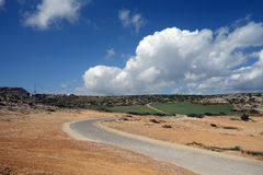 Δρόμος στα σύννεφα στοκ φωτογραφίες με δικαίωμα ελεύθερης χρήσης
