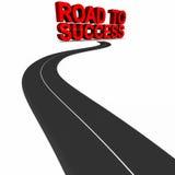 Δρόμος στην επιτυχία απεικόνιση αποθεμάτων
