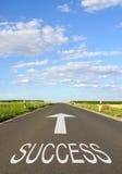 Δρόμος στην επιτυχία στοκ εικόνες με δικαίωμα ελεύθερης χρήσης