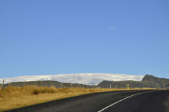 Δρόμος στην Ισλανδία Στοκ Φωτογραφίες