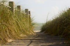 Δρόμος στην παραλία Στοκ Φωτογραφίες