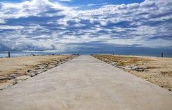 Δρόμος στη Μεσόγειο Στοκ εικόνες με δικαίωμα ελεύθερης χρήσης