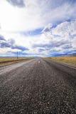 Δρόμος στη στέπα Chu Στοκ φωτογραφία με δικαίωμα ελεύθερης χρήσης