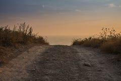 Δρόμος στον ουρανό στοκ εικόνα με δικαίωμα ελεύθερης χρήσης