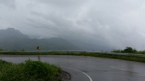 Δρόμος στο βουνό Στοκ Φωτογραφία