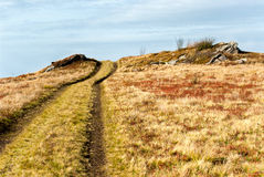 Δρόμος στο βουνό Στοκ φωτογραφία με δικαίωμα ελεύθερης χρήσης