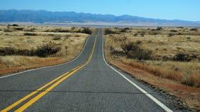 Δρόμος στο κράτος της Αριζόνα Στοκ Εικόνες