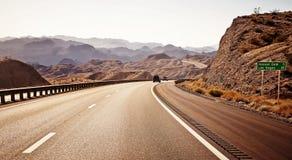 Δρόμος στο Λας Βέγκας Στοκ Εικόνες