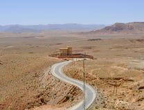 Δρόμος στο Μαρόκο στοκ φωτογραφίες