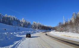 Δρόμος στο πέρασμα Στοκ Φωτογραφία