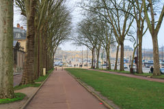 Δρόμος στο παλάτι των Βερσαλλιών Στοκ φωτογραφία με δικαίωμα ελεύθερης χρήσης