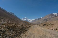 Δρόμος στο στρατόπεδο βάσεων Everest Στοκ εικόνες με δικαίωμα ελεύθερης χρήσης