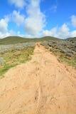 Δρόμος στο λόφο Στοκ Εικόνες