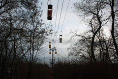 Δρόμος σχοινιών Στοκ φωτογραφίες με δικαίωμα ελεύθερης χρήσης