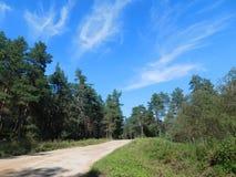 Δρόμος τακτοποίησης Στοκ φωτογραφία με δικαίωμα ελεύθερης χρήσης