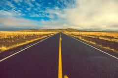 Δρόμος της Αριζόνα για να φτιάξει κρατήρα Στοκ εικόνες με δικαίωμα ελεύθερης χρήσης