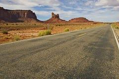 Δρόμος της Αριζόνα Στοκ φωτογραφία με δικαίωμα ελεύθερης χρήσης