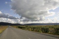 δρόμος της Ισλανδίας Στοκ Εικόνες