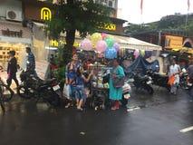 Δρόμος της Mira στην περιοχή Thane στοκ εικόνες
