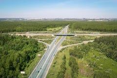 Δρόμος του Βλαντιμίρ, Ρωσία στοκ εικόνες