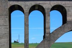 δρόμος του Μιλγουώκι γεφυρών στοκ εικόνα