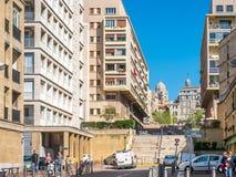 Δρόμος του Henri Tasso στη Μασσαλία Στοκ Εικόνα