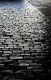 δρόμος τούβλου Στοκ φωτογραφίες με δικαίωμα ελεύθερης χρήσης