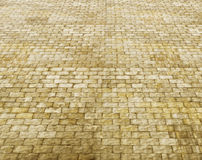 Δρόμος τούβλου Στοκ φωτογραφία με δικαίωμα ελεύθερης χρήσης