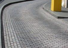 Δρόμος τούβλου Στοκ εικόνες με δικαίωμα ελεύθερης χρήσης