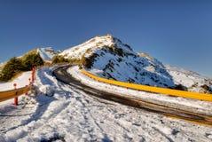 δρόμος υψηλών βουνών Στοκ φωτογραφία με δικαίωμα ελεύθερης χρήσης