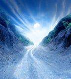 Δρόμος φεγγαριών στοκ εικόνα με δικαίωμα ελεύθερης χρήσης